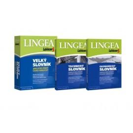 Lingea: Lexicon 5 Anglický velký + ekonomický + technický slovník (3 CD-ROMy)