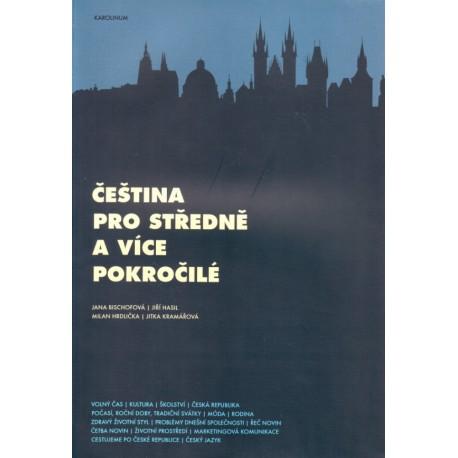 Čeština pro středně a více pokročilé + CD Karolinum 9788024617930