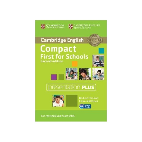 Compact First for Schools Second Edition Presentation Plus DVD-ROM 9781107416048