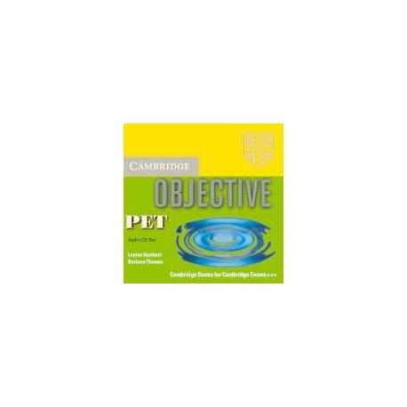 Objective PET CDs (3) Cambridge University Press 9780521678810