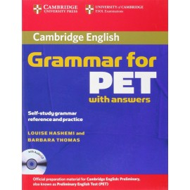 Cambridge Grammar for PET (with answers) + CD