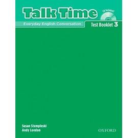 Talk Time 3 Test Booklet + CD