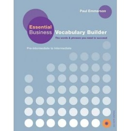Essential Business Vocabulary Builder Student's Book and Audio CD Pack
