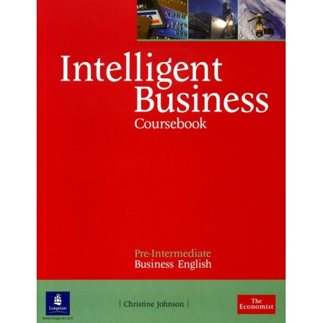 Intelligent Business Pre-Intermediate Coursebook Longman 9780582848016