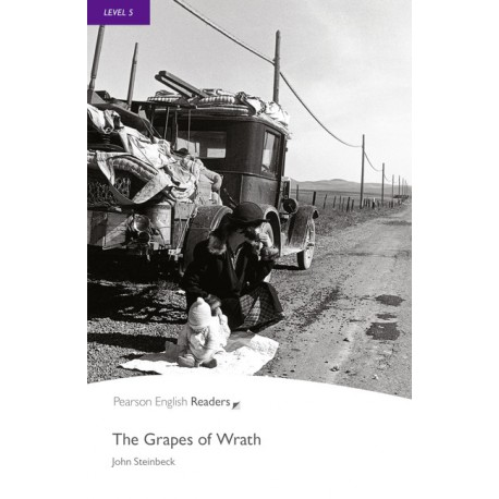 Pearson English Readers: The Grapes of Wrath Pearson 9781405862516