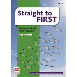 Straight to First Student's Book with Answers + Online Access Code