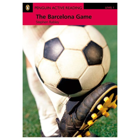 The Barcelona Game + CD-ROM Pearson 9781405884389
