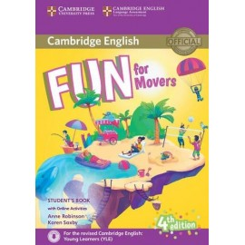 Fun for Movers Fourth edition Student´s Book with audio with online activities