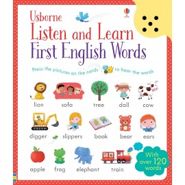 Listen and Learn First English Words Sound Book