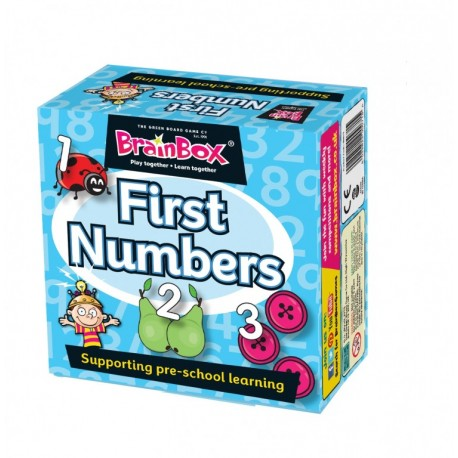 BrainBox First Numbers The Green Board Game 5025822900715