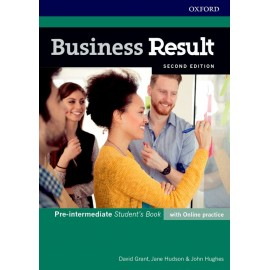 Business Result Second Edition Pre-Intermediate Student's Book with Online Practice
