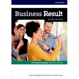 Business Result Second Edition Pre-Intermediate Teacher's Book with DVD