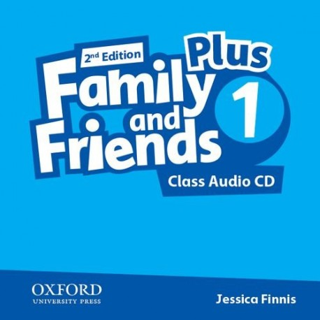 Family and Friends 1 Plus Second Edition Class Audio CD Oxford University Press 9780194403450
