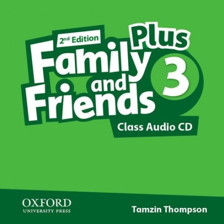 Family and Friends 3 Plus Second Edition Class Audio CD Oxford University Press 9780194403474