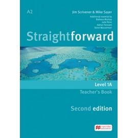 Straightforward Elementary Second Ed. Split Edition Level 1A Teacher´s Book Pack
