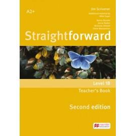 Straightforward Elementary Second Ed. Split Edition Level 1B Teacher´s Book Pack