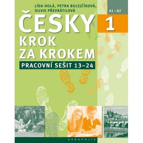 Česky krok za krokem 1 Pracovní sešit - lekce 13-24 Akropolis 9788074701344