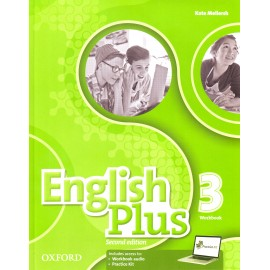 English Plus 3 Second Edition Workbook with Access to Audio and Practice Kit