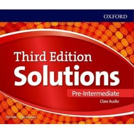 Maturita Solutions Third Edition Pre-Intermediate Class Audio CDs