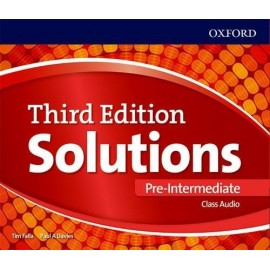 Maturita Solutions Third Edition Pre-Intermediate Class Audio CDs