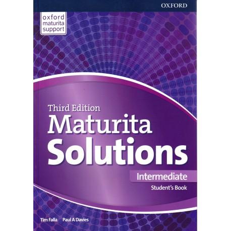 Maturita Solutions Third Edition Intermediate Student's Book Czech Edition