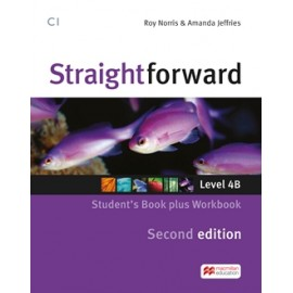 Straightforward Upper-intermediate Second Ed. Split Edition Level 4B Student's Book + Workbook without Key + CD
