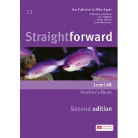 Straightforward Upper-intermediate Second Ed. Split Edition Level 4B Teacher´s Book Pack