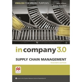 In Company 3.0 ESP Supply Chain Management Teacher's Book