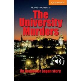 Cambridge Readers: The University Murders + Audio download