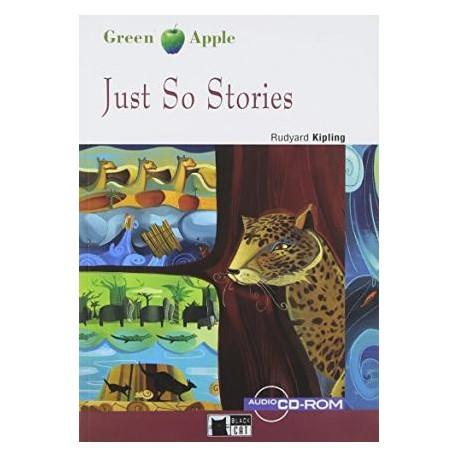 Just So Stories + CD-ROM Black Cat - CIDEB 9788853010131