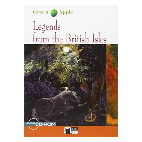 Legends from the British Isles + CD/CD-ROM Black Cat 9788853006189