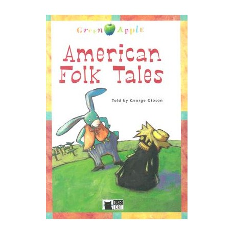 American Folk Tales + CD Black Cat 9788853001078