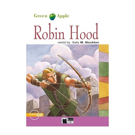 Robin Hood + CD Black Cat - CIDEB 9788877549877