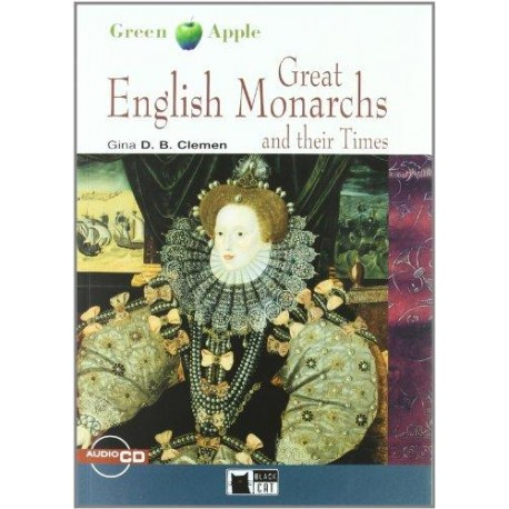 Great English Monarchs and their Times + CD Black Cat - CIDEB 9788853004239