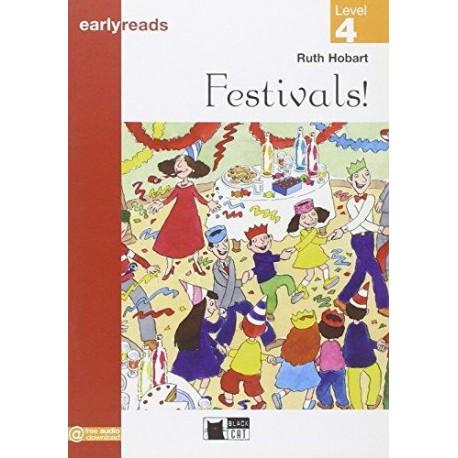 Festivals! (Level 4) Black Cat - CIDEB 9788853007087
