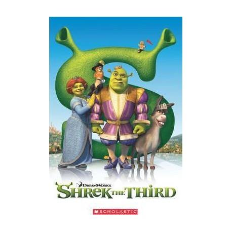 Popcorn ELT: Shrek The Third + CD (Level 3) Scholastic 9781906861285