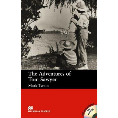 The Adventures of Tom Sawyer + CD (600 key words) Macmillan 9781405076081