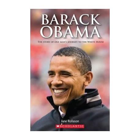 Scholastic Readers: Barack Obama + CD Scholastic 9781905775804