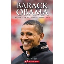 Scholastic Readers: Barack Obama + CD