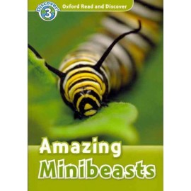 Discover! 3 Amazing Minibeasts + Audio CD
