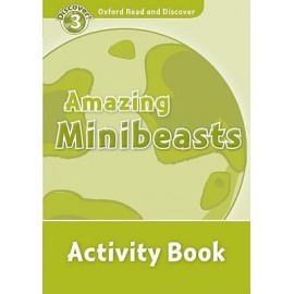 Discover! 3 Amazing Minibeasts Activity Book