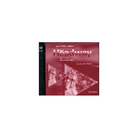 New Headway Elementary Third Edition Class Audio CDs (2) Oxford University Press 9780194715140