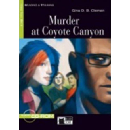 Murder at Coyote Canyon + CD-ROM Black Cat - CIDEB 9788853007131