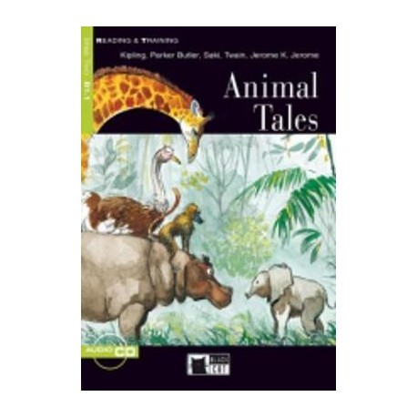 Animal Tales + CD Black Cat - CIDEB 9788853000156