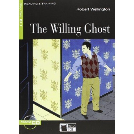 The Willing Ghost + CD Black Cat - CIDEB 9788853010186