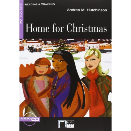 Home for Christmas + CD Black Cat - CIDEB 9788853005427