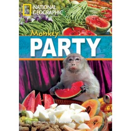 National Geographic Footprint Readers: Monkey Party + DVD