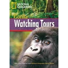 National Geographic Footprint Readers: Gorilla Watching Tours + DVD