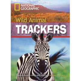 National Geographic Footprint Readers: Wild Animal Trackers + DVD