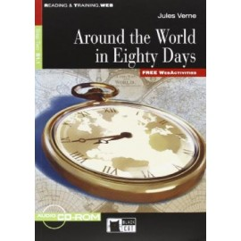 Around the World in Eighty Days + CD-ROM